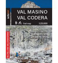 Sete Map Italien Alpin - Val Masino, Val Codera 1:25.000 SeTeMap