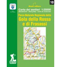 Wanderkarten Apennin IGA-Wanderkarte 10, Gola della Rossa e di Frasassi 1:25.000 Istituto adria