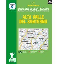 Wanderkarten Apennin Monti Editore Wanderkarte 23, Alta Valle del Santerno 1:25.000 Istituto adria