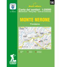 Wanderkarten Apennin Monti Editore Wanderkarte 14, Monte Nerone 1:25.000 Istituto adria