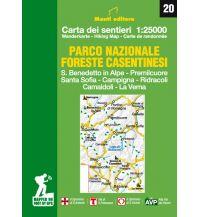 Wanderkarten Apennin Monti Editore Wanderkarte 20, Parco Nazionale Foreste Casentinesi 1:25.000 Istituto adria