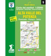 Monti Editore WK 05 Italien Außeralpin - Alta Valle del Potenza 1:25.000 Istituto adria
