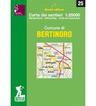 Wanderkarten Monti Editore Wanderkarte 25, Comune di Bertinoro 1:25.000 Istituto adria