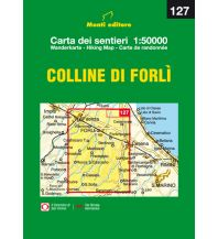 Wanderkarten Apennin Monti Editore-Wanderkarte 127, Colline di Forli 1:50.000 Istituto adria