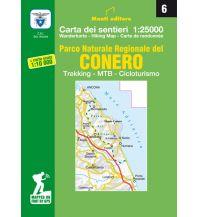 Wanderkarten Apennin Monti Editore Wanderkarte 6, PNR del Conero 1:25.000/1:10.000 Istituto adria