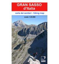 Wanderkarten Apennin SER Carta dei Sentieri, Gran Sasso d'Italia 1:25.000 Società Editrice Ricerca