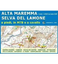 Wanderkarten Apennin Il Lupo Carta 1, Alta Maremma - Selva del Lamone 1:25.000 Edizioni Il Lupo