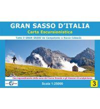 Skitourenkarten Il Lupo-Wanderkarte 3, Gran Sasso d'Italia 1:25.000 Edizioni Il Lupo