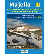 Skitourenkarten Il Lupo Hiking and Skitouring Map 13, Majella 1:25.000 Edizioni Il Lupo