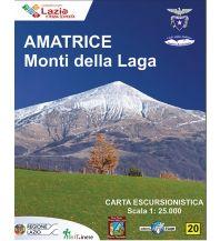 Wanderkarten Apennin Il Lupo Carta escursionistica, Amatrice, Monti della Laga 1:25.000 Edizioni Il Lupo