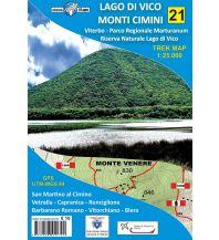 Wanderkarten Italien Il Lupo Trek Map 21, Lago di Vico, Monti Cimini 1:25.000 Edizioni Il Lupo