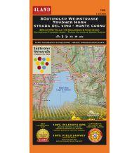 Wanderkarten Italien 4Land Wander- & MTB-Karte 184, Südtiroler Weinstrasse, Trudner Horn 1:25.000 4Land