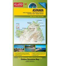 Wanderkarten Italien 4Land-Karte 160, Asinara (Sardinien) 1:25.000 4Land
