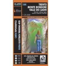 Wanderkarten Italien 4Land MTB-Karte 144 - Trento, Monte Bondone, Valle dei Laghi 1:25.000 4Land