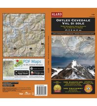 Wanderkarten Italien 4Land Wander- & MTB-Karte 156, Ortles/Ortler, Cevedale, Val di Sole 1:25.000  4Land