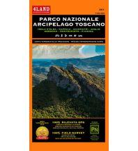 Mountainbike-Touren - Mountainbikekarten 4Land Wander- & MTB-Karte 201, Parco Nazionale Arcipelago Toscano 1:25.000/1:15.000 4Land
