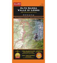 Mountainbike-Touren - Mountainbikekarten 4Land Wander- & MTB-Karte 114, Alto Garda, Valle di Ledro 1:25.000 4Land