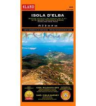 Wanderkarten Italien 4Land-Wander- & Radkarte 202, Isola d'Elba 1:25.000 4Land
