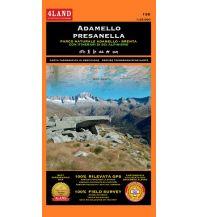 Skitourenkarten 4Land-Karte 138, Adamello, Presanella 1:25.000 4Land