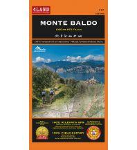 Wanderkarten Italien 4Land-MTB- & Wanderkarte 117, Monte Baldo 1:25.000 4Land