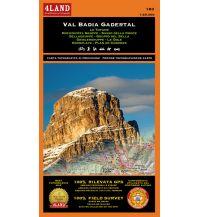Wanderkarten Südtirol & Dolomiten 4Land-Karte 183, Val Badia/Gadertal 1:25.000 4Land
