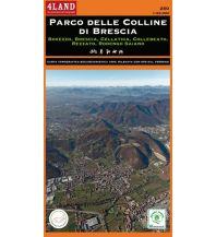 Wanderkarten Italien 4Land-Karte 250, Parco delle Colline di Brescia 1:25.000 4Land