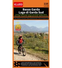 4Land Rad- & Wanderkarte 116, Basso Garda/Lago di Garda Sud 1:25.000 4Land