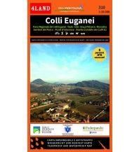 Wanderkarten Italien 4Land WK 310, Colli Euganei / Euganäische Hügel 1:15.000 4Land