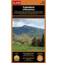 Wanderkarten Apennin 4Land-Wanderkarte 206, Camaiore e Massarosa 1:10.000 4Land