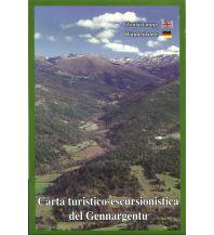Wanderkarten Italien Abies Carta turistico-escursionistica Sardinien - Gennargentu 1:30.000 Abies Map