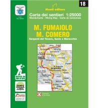 Wanderkarten Italien 18 Istituto Geografico Adriatico Italien - Monte Fumaiolo, Alto Tevere 1:25.000 Istituto adria