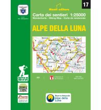 Wanderkarten 17 Istituto Geografico Adriatico Italien - Alpi della Luna 1:25.000 Istituto adria