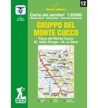 Wanderkarten Apennin IGA-Wanderkarte 12, Gruppo del Monte Cucco 1:25.000 Istituto adria