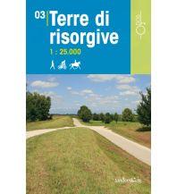 Wanderkarten Italien Rad-, Wander- und Reitkarte Odòs 03, Terre di Risorgive (Friaul) 1:25.000 Odos
