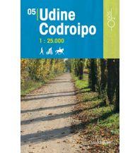 Wanderkarten Italien Rad-, Wander- und Reitkarte Odòs 05, Udine, Codroipo 1:25.000 Odos