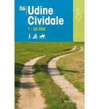Wanderkarten Italien Rad-, Wander- und Reitkarte Odòs 06, Udine, Cividale 1:25.000 Odos