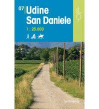 Wanderkarten Italien Rad-, Wander- und Reitkarte Odòs 07, Udine, San Daniele 1:25.000 Odos
