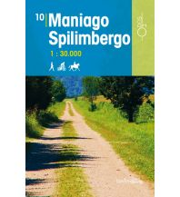 Wanderkarten Italien Rad-, Wander- und Reitkarte Odòs 10, Maniago, Spilimbergo 1:30.000 Odos