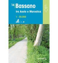 Wanderkarten Italien Rad-, Wander- und Reitkarte Odòs 16, Bassano tra Asolo e Marostica 1:30.000 Odos