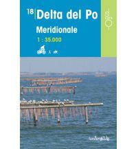 Wanderkarten Italien Rad-, Wander- und Reitkarte Odòs 18, Delta del Po meridionale/Süd 1:35.000 Odos