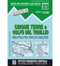 Wanderkarten Apennin IGC WK 23 Italien - Cinque Terre e Golfo del Tugullio 1:50.000 Istituto Geografico Centrale