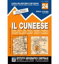 Wanderkarten Italien IGC WK 24 Italien - Il Cuneese 1:75.000 Istituto Geografico Centrale