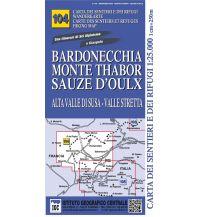 Wanderkarten IGC WK 104 Italien Alpin - Bardonecchia, Monte Thabor, Sauze d'Oulx 1:25.000 Istituto Geografico Centrale