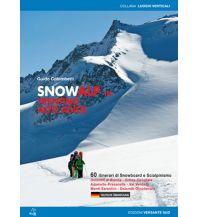 Skitourenführer Italienische Alpen Snowalp in Trentino-Alto Adige/Trentino-Südtirol Versante Sud Edizioni Milano