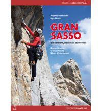 Alpinkletterführer Gran Sasso - vie classiche, moderne e d'avventura Versante Sud Edizioni Milano