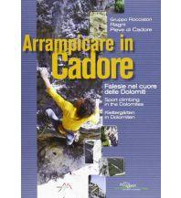 Sportkletterführer Italienische Alpen Arrampicare in Cadore - Klettergärten Idea Montagna Editoria e Alpinismo
