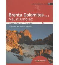 Alpinkletterführer Brenta Dolomites, Band 1 - Val d'Ambiez Idea Montagna Editoria e Alpinismo