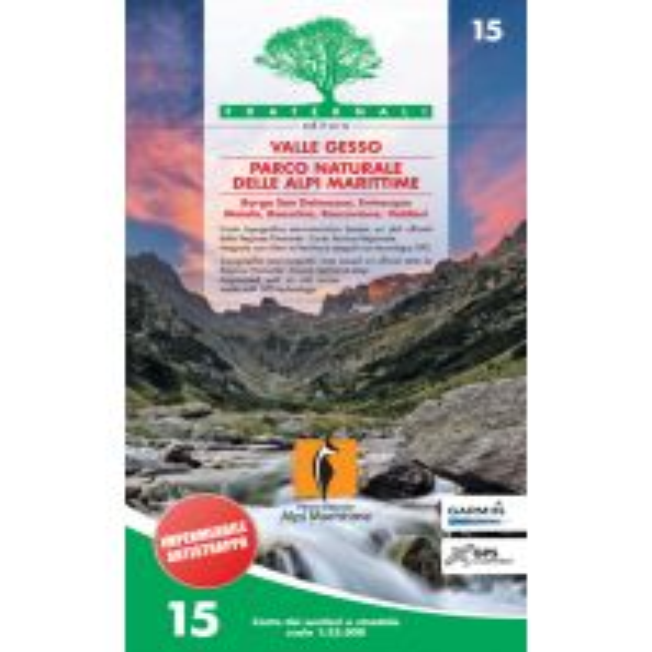 Wanderkarten Italien Fraternali-Wanderkarte 15, Valle Gesso, Parco Naturale delle Alpi Marittime 1:25.000 Fraternali Editore