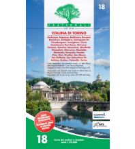 Wanderkarten Italien Fraternali-Wanderkarte 18, Collina di Torino 1:25.000 Fraternali Editore