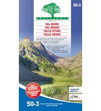 Wanderkarten Italien Fraternali-Wanderkarte 50-3, Val Maira, Val Grana, Val Stura di Demonte, Valle Gesso 1:50.000 Fraternali Editore